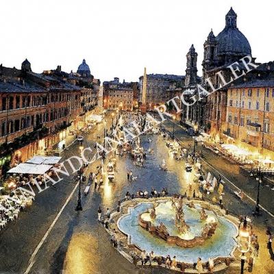 Piazza Navona di notte