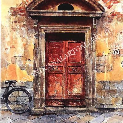 Portone in Trastevere