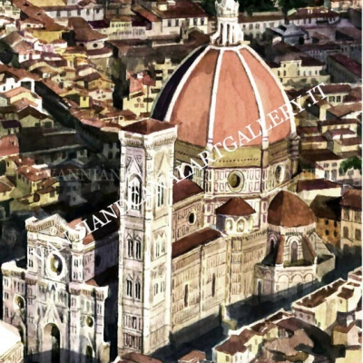 Tetti e Duomo (Firenze)
