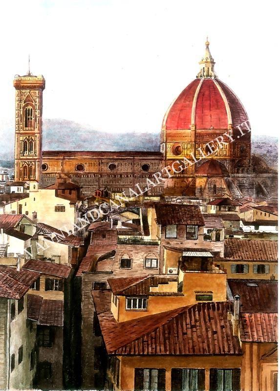 Tetti, Cupola e Panorama (Firenze)