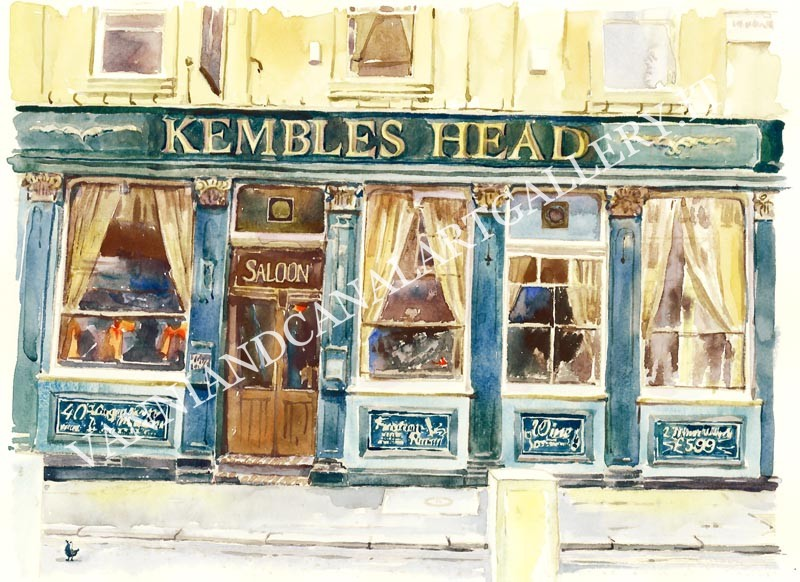 London Kembles Head