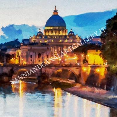 San Pietro di notte