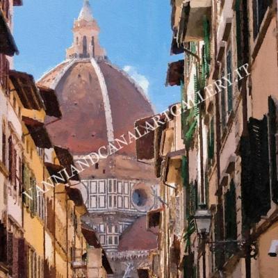 Duomo e vicolo (Firenze)