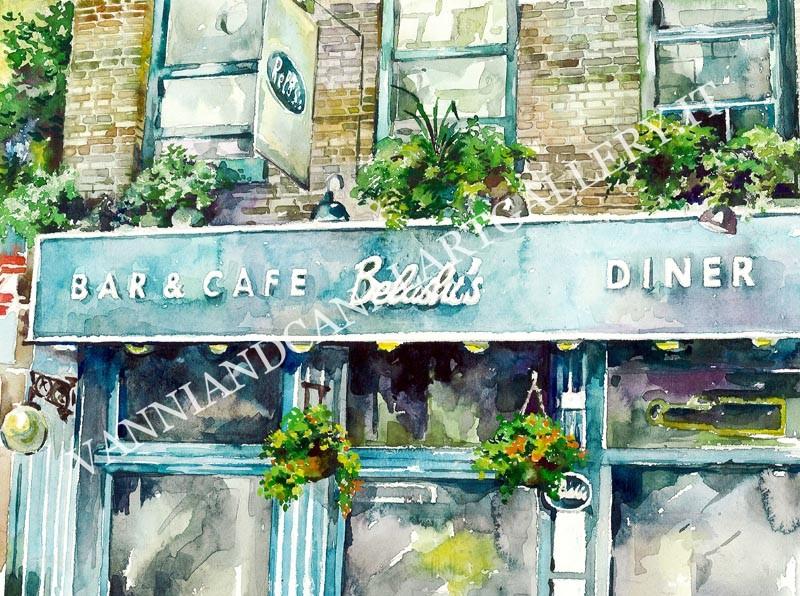 London Cafe Belushi's