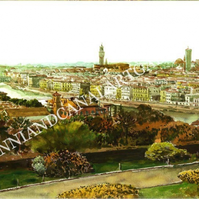 Panorama Lungarno (Firenze)