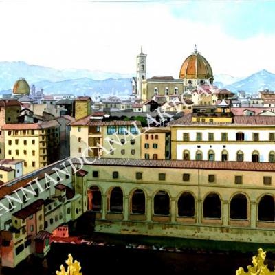 Corridoio del Vasari