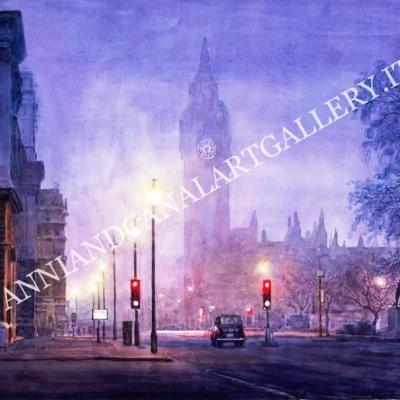 London Big Ben at night
