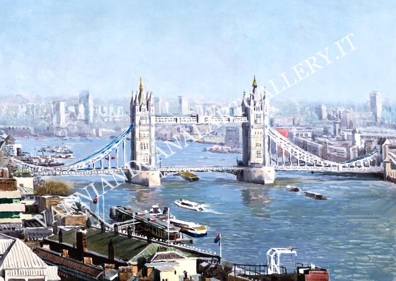 London and Tower Bridge