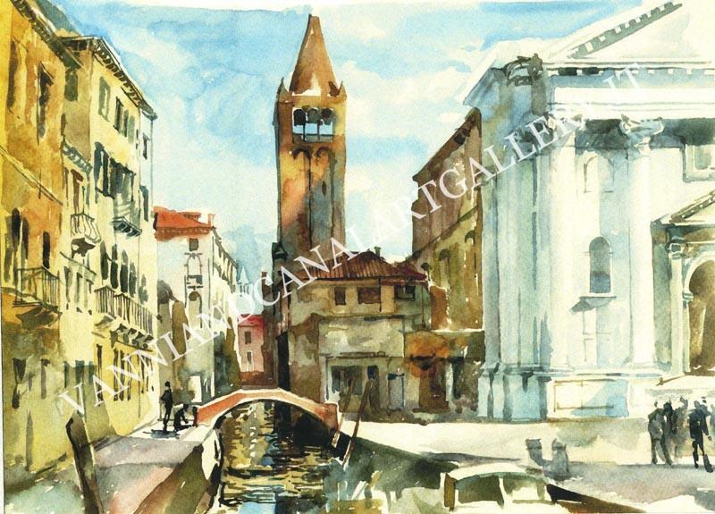 Canale e chiesa