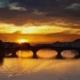 Tramonto e Ponte Vecchio (Firenze)