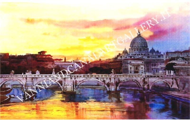 Vaticano al tramonto
