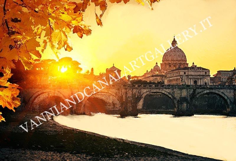 Vaticano al tramonto (Roma)