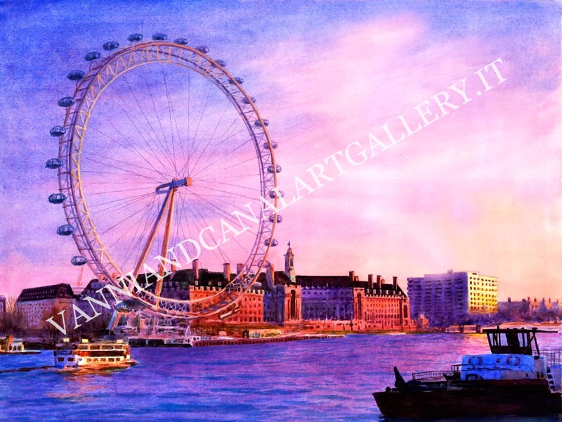 London and the Big Eye