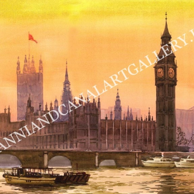 London and parliament and Big Ben