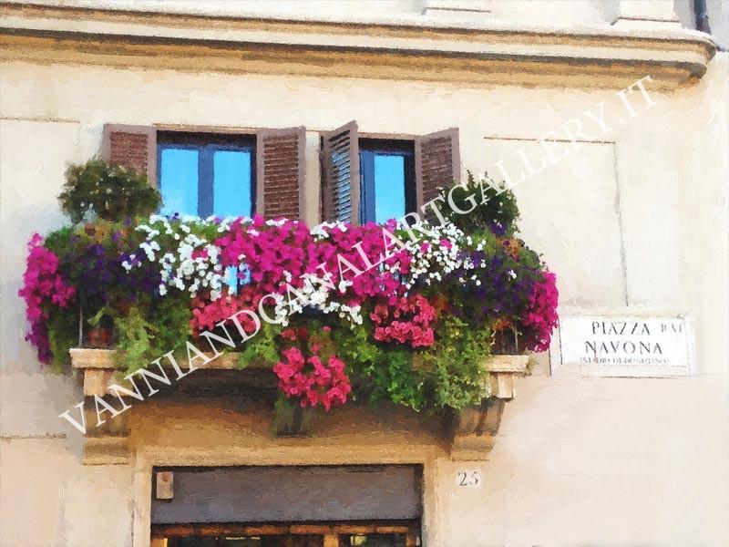 Balcone di Piazza Navona (Roma)