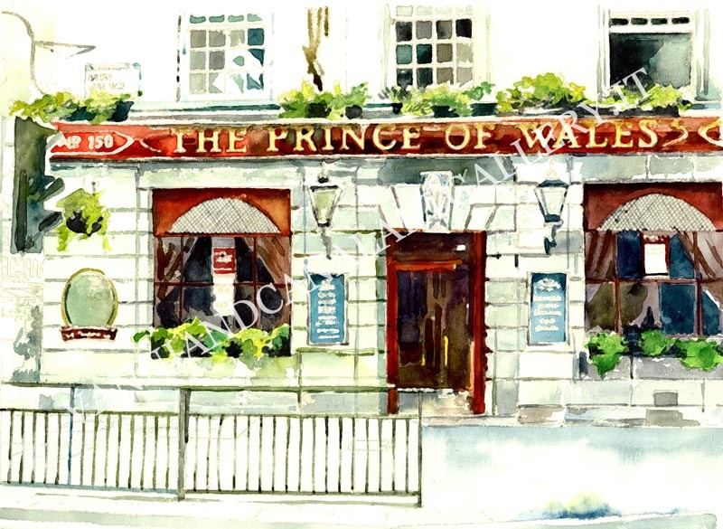 The Prince of Wales restaurant
