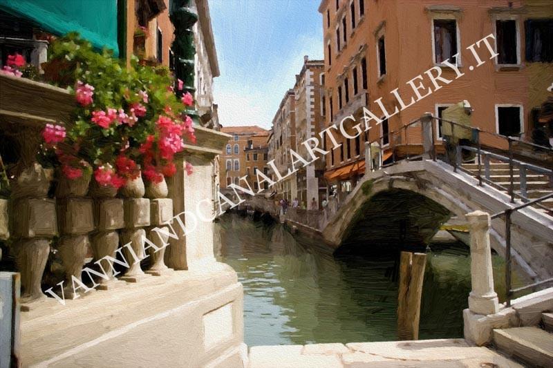 Ponte e canale (Venezia)