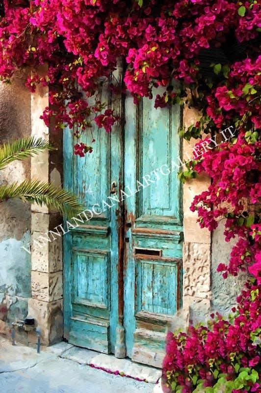 Trastevere - Porta blu - Roma