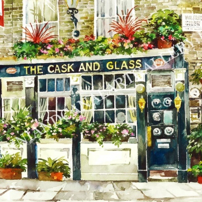 The Cask and Glass