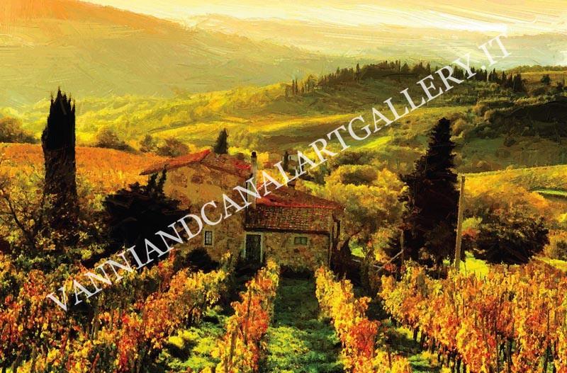 Paesaggio autunnale - Toscana