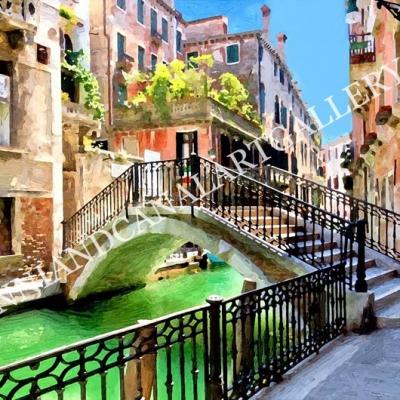 Venice with bridge (Venice)