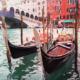 Venezia Rialto e gondole