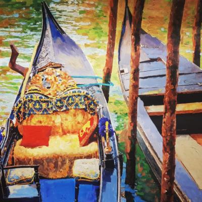 Venezia con gondole