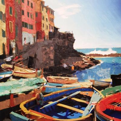 5Terre Monterosso e barche
